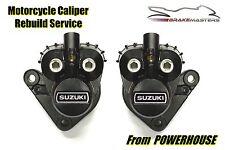 Suzuki GT 750 73-77 front brake caliper rebuild service 1973 1974 1975 1976 1977