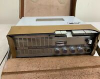 UHER 4000 Report-S Tape Recorder Reel to Reel Germany Power Supply Leather Case