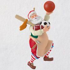 Toymaker Santa Sports Equipment 2018 Hallmark Ornament