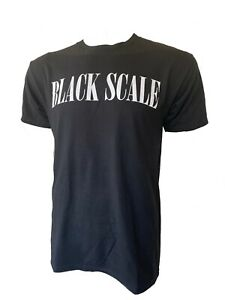 Black Scale Culture Kings Mens Black Graphic Tee Shirt Size M