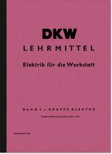 DKW Lehrmittel Elektrik Werkstatt Anleitung Handbuch RT 125 175 200 250 350S 3=6