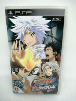 Sony PLAYSTATION Psp Portable Katekyoo Hitman Reborn Kizuna No Tag Battle Japan