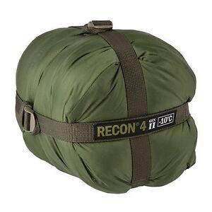 HALO Recon 4 Gen II Sleeping Bag 14°F / -10°C Military Spec Tactical GREEN