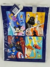 Disney Store 30th Anniversary star wars Marvels Tote / Gift Bag with zipper New