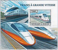Burundian Sheet Postal Stamps