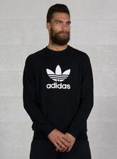 Adidas Originals Trefoil Crew Felpa Uomo Nera XL Nero