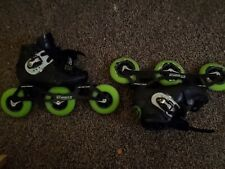 Luigino Kids Mini Challenge 3 Wheel Adjustable Inline Speed Skate Size: 2-5