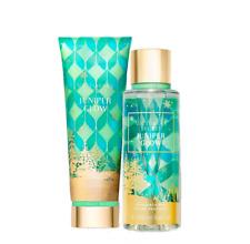 Victoria's Secret Juniper Glow Fragrance Lotion + Fragrance Mist Duo Set