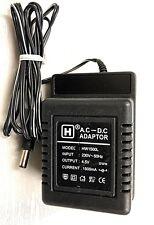 UK MAINS  PLUG CHARGER ADAPTER 4.5V AC-DC  1500mA  5.5mm plug Jack Plug