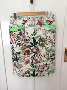 Andiamo Cotton Skirt Size 10