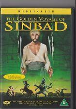 GOLDEN VOYAGE OF SINBAD DVD RAY HARRYHAUSEN RETRO 70S