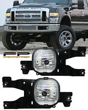 2008-2010 Ford F-250 Super Duty Fog Lights Complete Full Set Kit Include Wiring
