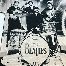 Vintage The Beatles All Over Print L Apple Corps Single Stitch Usa Band T Shirt