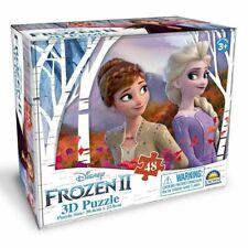 Disney Frozen 2 48 Piece 3d Jigsaw Puzzle