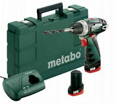 Metabo 600080500 10.8 V Powermaxx BS Drill Driver with 2 x 2Ah Batteries