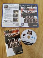 GOD HAND SONY PLAYSTATION 2 PS2 GAME WITH MANUAL OFFICIAL UK PAL VGC
