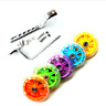 "LED BICYCLE KIDS CHILDRENS STABILISERS 12-20"" TRAINING WHEELS HEAVY DUTY NEW"
