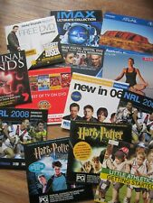 13 DVD preview promotion sets- some with Full episodes-Criminal Minds,IMAX,NRL