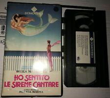 VHS HO SENTITO LE SIRENE CANTARE di Patricia Rozema [DOMOVIDEO]