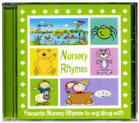 Nursery Rhymes CD  Favourite children's songs to sing along with NEW & WRAPPED