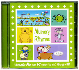 Nursery Rhymes CD  Favourite children's songs Kids nursery rhymes NEW & WRAPPED