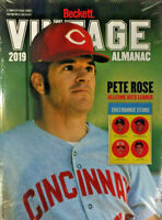 New Beckett Vintage Almanac 2019 Annual Price Guide 5th Edition With Pete Rose