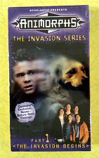 Animorphs Invasion Series: Part 1: The Invasion Begins ~ New VHS Video Kids Show