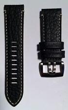 Luminox Uhrenarmband Series 1860 1861 Field 26mm schwarz Leder FE1860.20Q