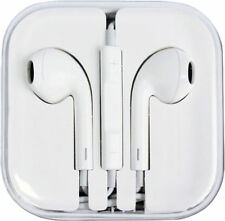 For iPhone 6 6S Plus 5 5S 4 4S Earphones EarPods Volume Control Mic 2017