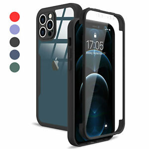 Shockproof 360 body Full Case For iPhone 13 Pro Max 11 12 Pro XR XS 7 8 Plus SE