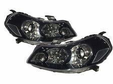 Sedici MK1 2007-2013 Hatchback 5D Projector Headlight Black V2 for Fiat LHD