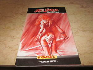 Red Sonja She-Devil With A Sword Volume 6: Death