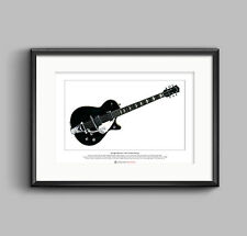 George Harrison's 1957 Gretsch Duo Jet Limited Edition Fine Art Print A3 size