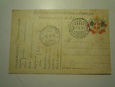 CARTOLINA IN FRANCHIGIA MILITARE REGIO ESERCITO GENIO ZAPPATORI 1916 C10-246