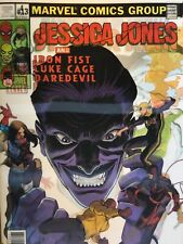 Jessica Jones #13 lenticular variant Purple man Luke cage NM 1st printing Marvel