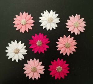 ×8 Felt Flower Embellishments. Die cuts