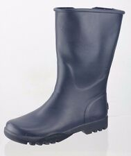 Women's Sperry Top-Sider Nellie Navy Blue Rain Boots Waterproof Shoes Size 6 M