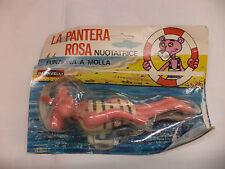 PANTERA ROSA a corda BARAVELLI vintage anni 70 - ROTTA,  ( DISPONIBILE SANA)