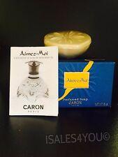 CARON AIMEZ-MOI PERFUMED SOAP 5 OZ / 150 GRAMS NIB, VINTAGE !