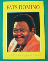 FATS Domino 1992 European Tour timeless guter Zustand Tour Dokumentation B-12815