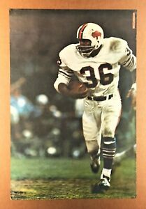 """O.J. SIMPSON"" (1969) *NFL ROOKIE POSTER* - Buffalo Bills - ""SPORTS ILLUSTRATED"""
