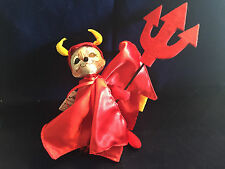 """Annalee Halloween  Devil Mouse 6"""" Open Mouth New 2015 301115"""