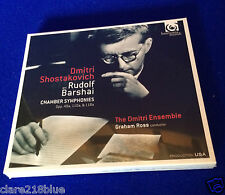 NEW SEALED Dmitri Shostakovich Chamber Symphonies Opp. 49a, 110a, 118a  CD 2015