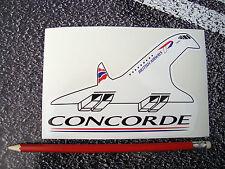 Concorde Sticker British Airways Mach 2 Aviation Aeroplane Airliner Supersonic