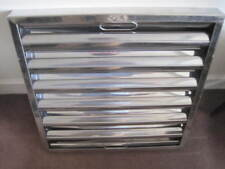 """Stainless Steel Grease Baffle Filter 395x395x45 16""""x16""""x2"""" Kitchen Canopy Filter"""