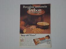 advertising Pubblicità 1971 PERUGINA TREBON