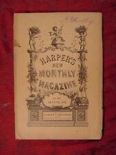 HARPER's August 1882 THOMAS WENTWORTH HIGGINSON GEORGE PARSONS LATHROP SPAIN +++
