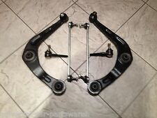 PEUGEOT 206  98- FRONT LOWER WISHBONE SUSPENSION ARMS LINKS & 2 TRACK ROD ENDS