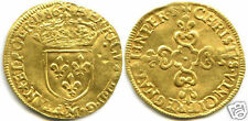 Henri III ECU Gold in the Sunglasses 1586 M Toulouse 4,500 Copies