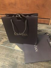 Levian Jewelry Presentation Gift 3 Bags Chocolate Brown Rose Gold Color Ribbons